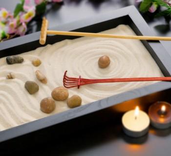 jardin zen chica