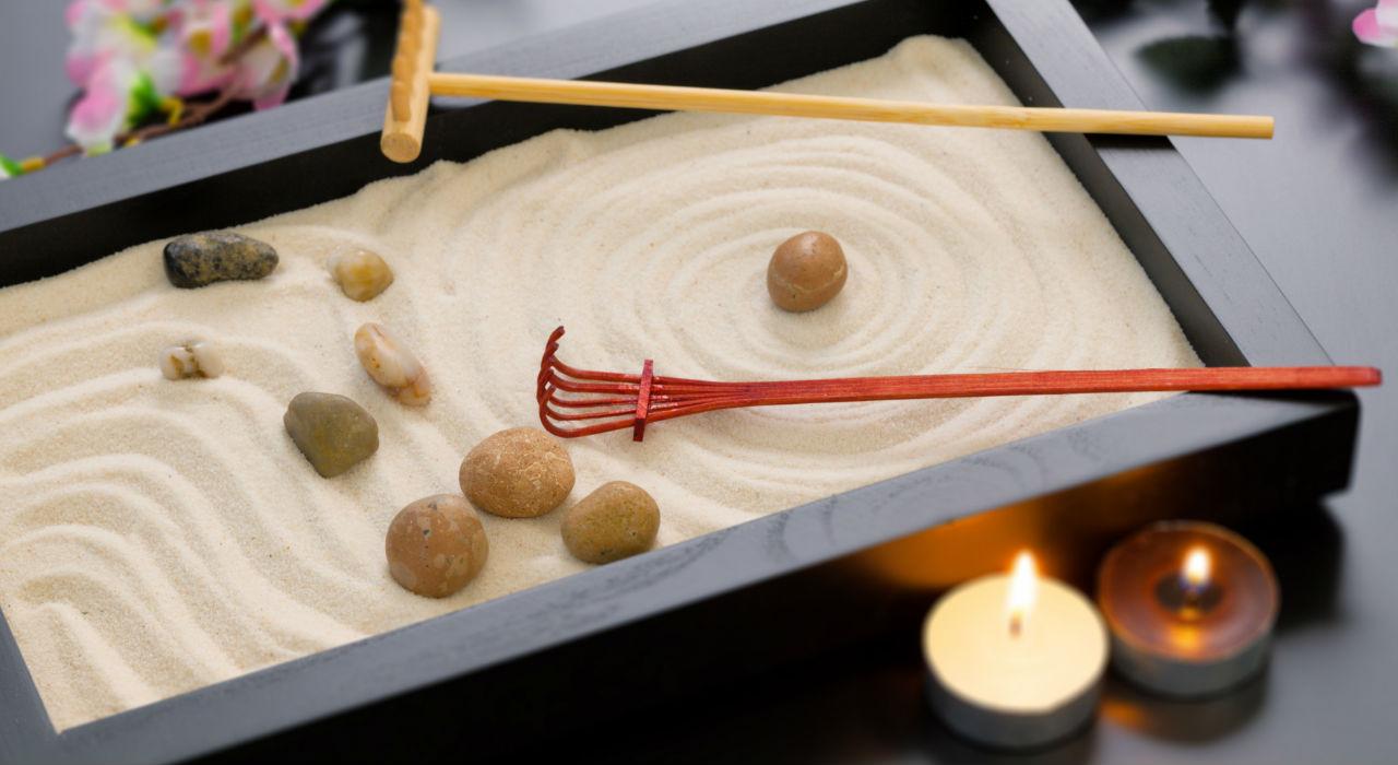 Ideas para hacer un jard n zen en tu escritorio - Arena para jardin zen ...