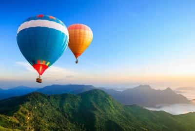 Anímate a viajar en globo aerostático
