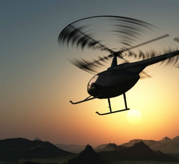 Anímate a viajar en helicóptero
