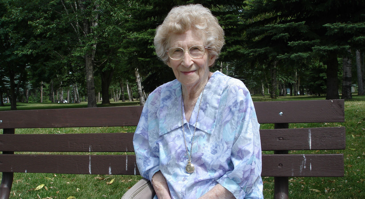 Video con anciana