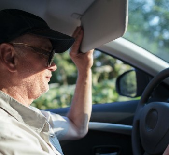 Ideas para conducir ante un sol deslumbrante