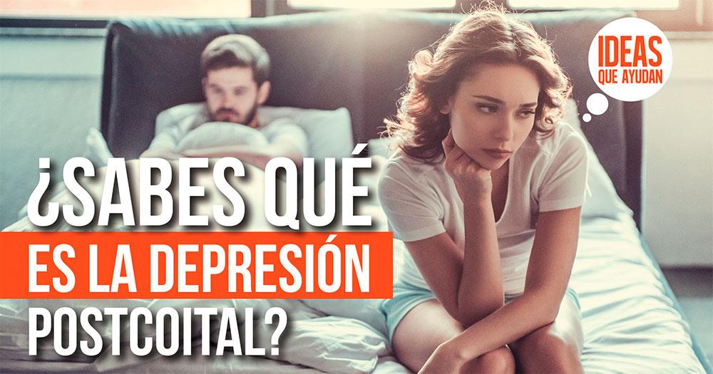 depresión postcoital