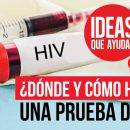 cómo hacerte una prueba de VIH