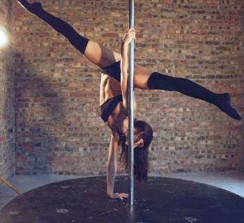 pole dance chica