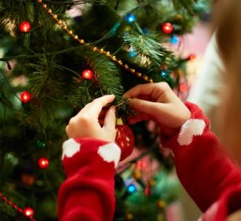 árbol de navidad chica