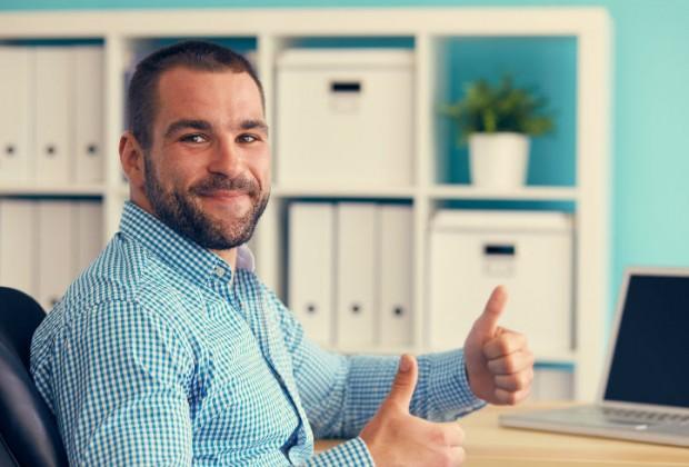 Ideas de posturas que te ayudarán en el trabajo.