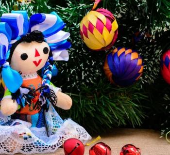 Paseo navideño en la delegación Cuauhtémoc