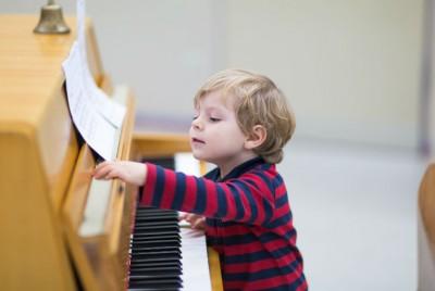 Cuando los niños se convierten en genios musicales