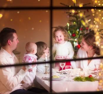cena navidad chica