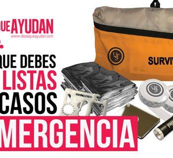 cosas que debes tener listas para casos de emergencia