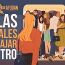Reglas de convivencia para viajar en metro