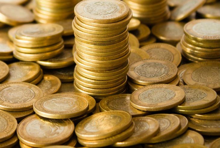 Monedas de 10 pesos