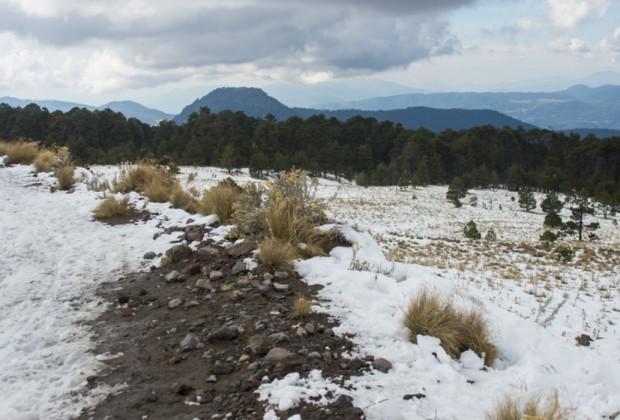 La Marquesa se llena de nieve