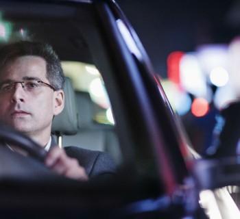 Consejos al conducir de noche