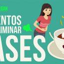 Alimentos para eliminar gases