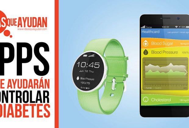 Apps para controlar la diabetes