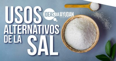 Usos alternativos de la sal