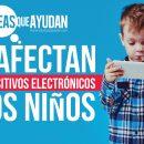 dispositivos electrónicos a los niños