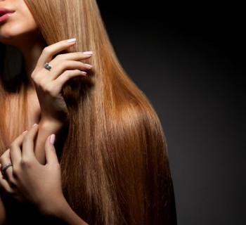 cabello largo chica