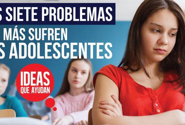problemas que más sufren los adolescentes