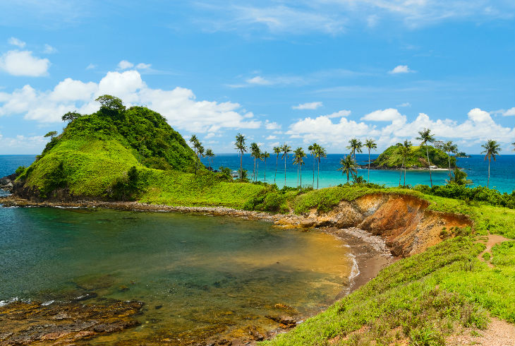 Nacpan Beach, El Nido, Filipinas
