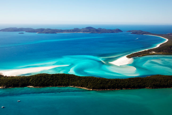 Whitehaven Beach, Islas Whitsunday