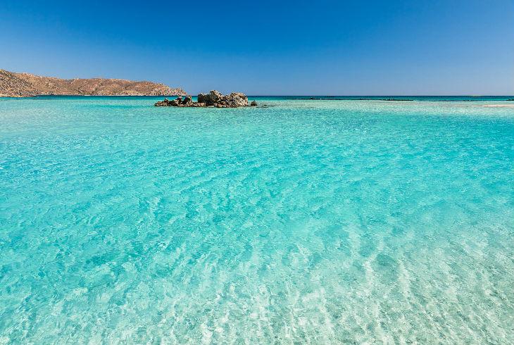 Playa de Elafonisi, Grecia
