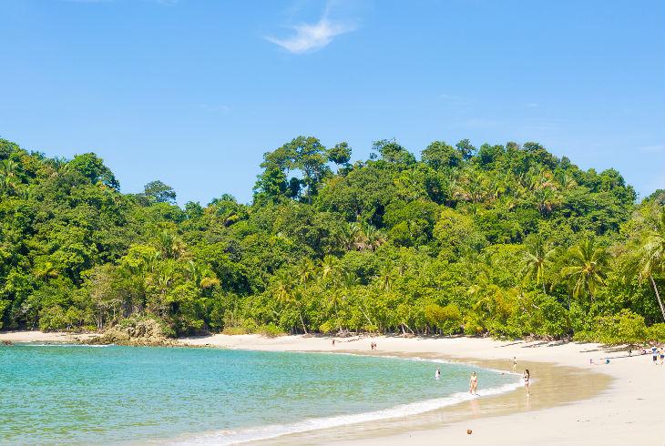 Playa Manuel Antonio, Parque Nacional Manuel Antonio, Costa Rica