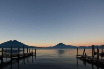 Lago de Atitlán, en Guatemala