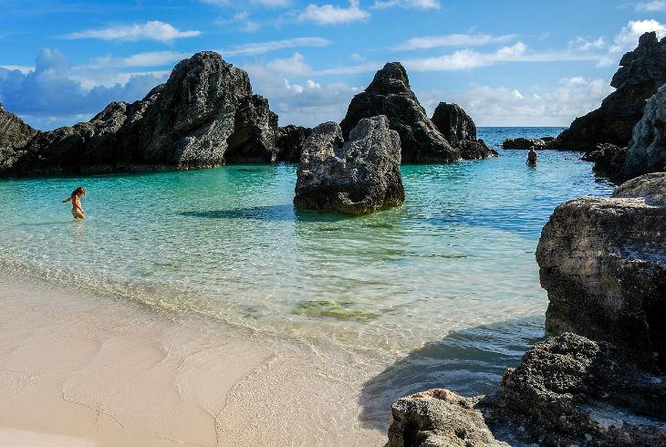 Horseshoe bay beach, Southampton, Islas Bermudas