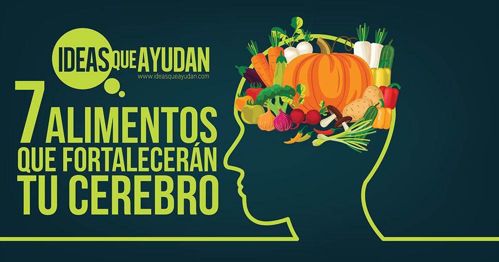 alimentos que fortalecen tu cerebro