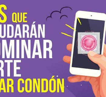 el arte de usar condón