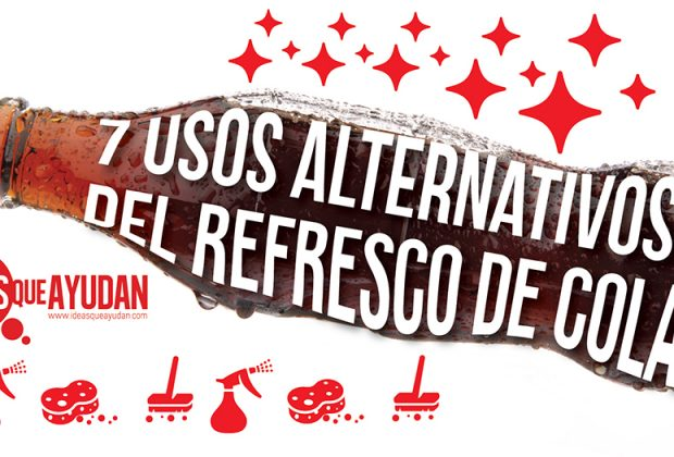 usos alternativos del refresco de cola