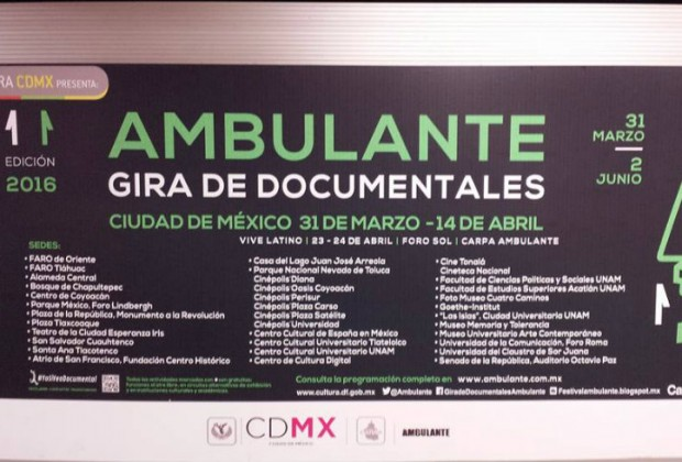 Gira de documentales en México