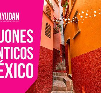 Callejones románticos de México