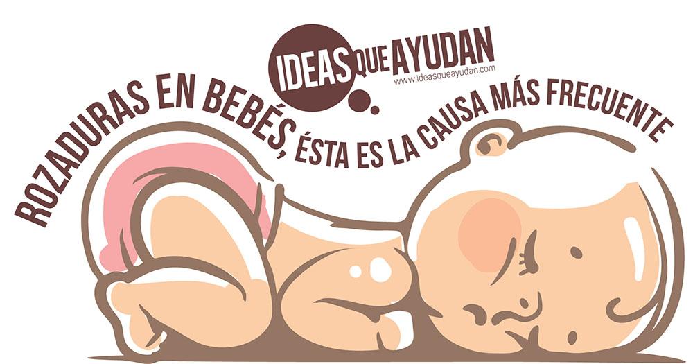 Rozaduras en bebés