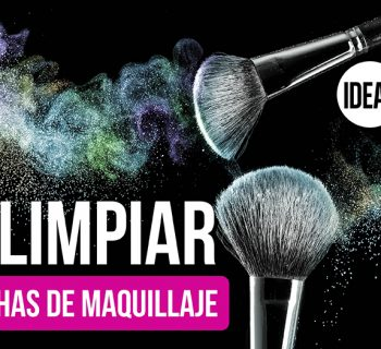 Cómo limpiar las brochas de maquillaje