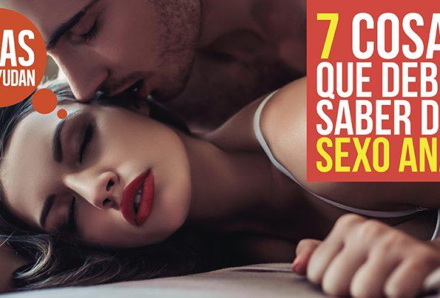 saber del sexo anal