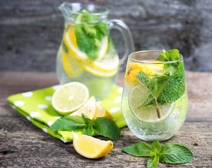 limon y menta