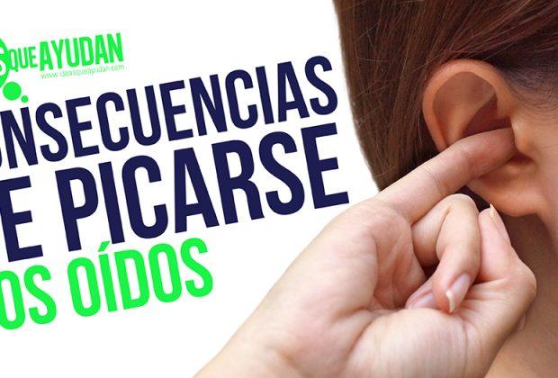 picarse los oídos