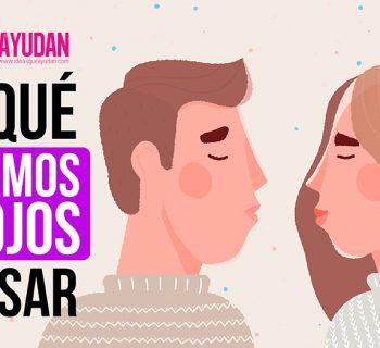 Por qué cerramos los ojos al besar