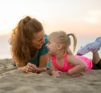 Experimentos de niños con mamás