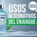 usos alternativos del enjuague bucal