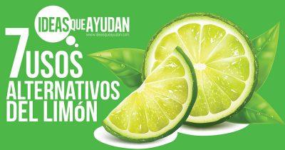 usos alternativos del limón