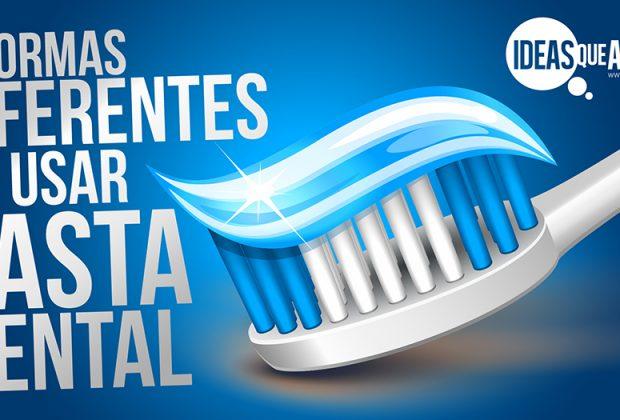 usos alternativos para la pasta de dientes