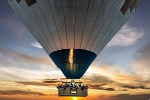 Globos aerostáticos en el Hipódromo y en Xochitla