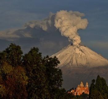 Precauciones a seguir ante la actividad del Popocatépetl