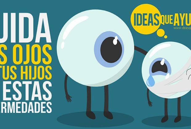 Enfermedades de la vista más comunes en niños