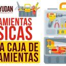 Herramientas básicas en una caja de herramientas